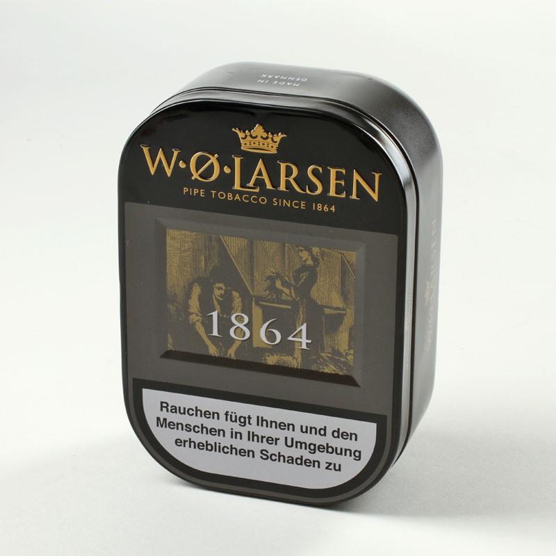معرفی و بررسی توتون پیپ لارسن W.O. Larsen 1864 Perfect Mixture
